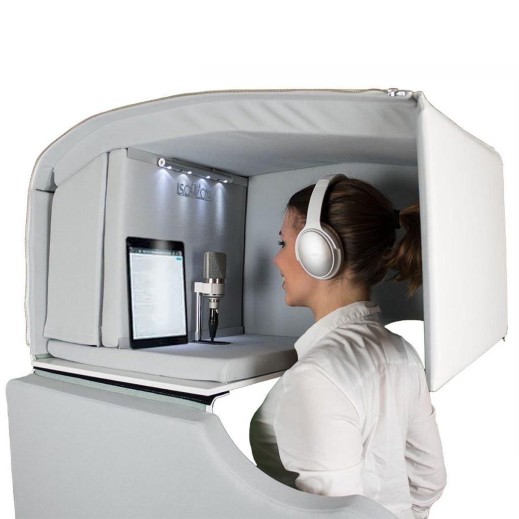 Isovox acoustic booth